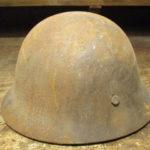 兵隊のヘルメット