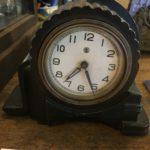 大正期国産アンチモニー時計