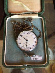 精工舎製懐中時計