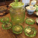 レトロガラス食器