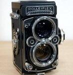 西洋アンティーク2眼カメラ