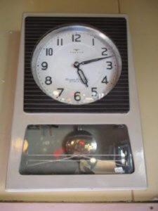 昭和レトロな掛時計