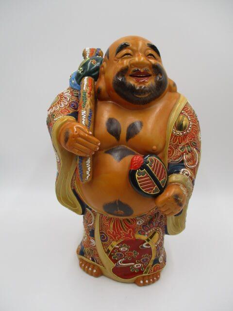 九谷焼の仏像人形