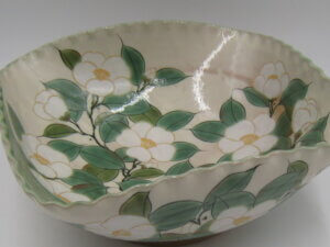 京楽焼の大鉢