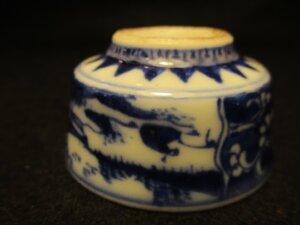古染付 煎茶器