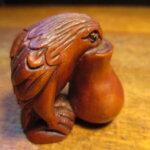 木彫り根付
