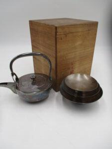銀製茶道具買取