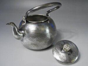 銀の茶道具買取